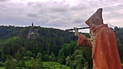 Sloup v Czechach atrakcje okolice Czeskiej Szwajcarii