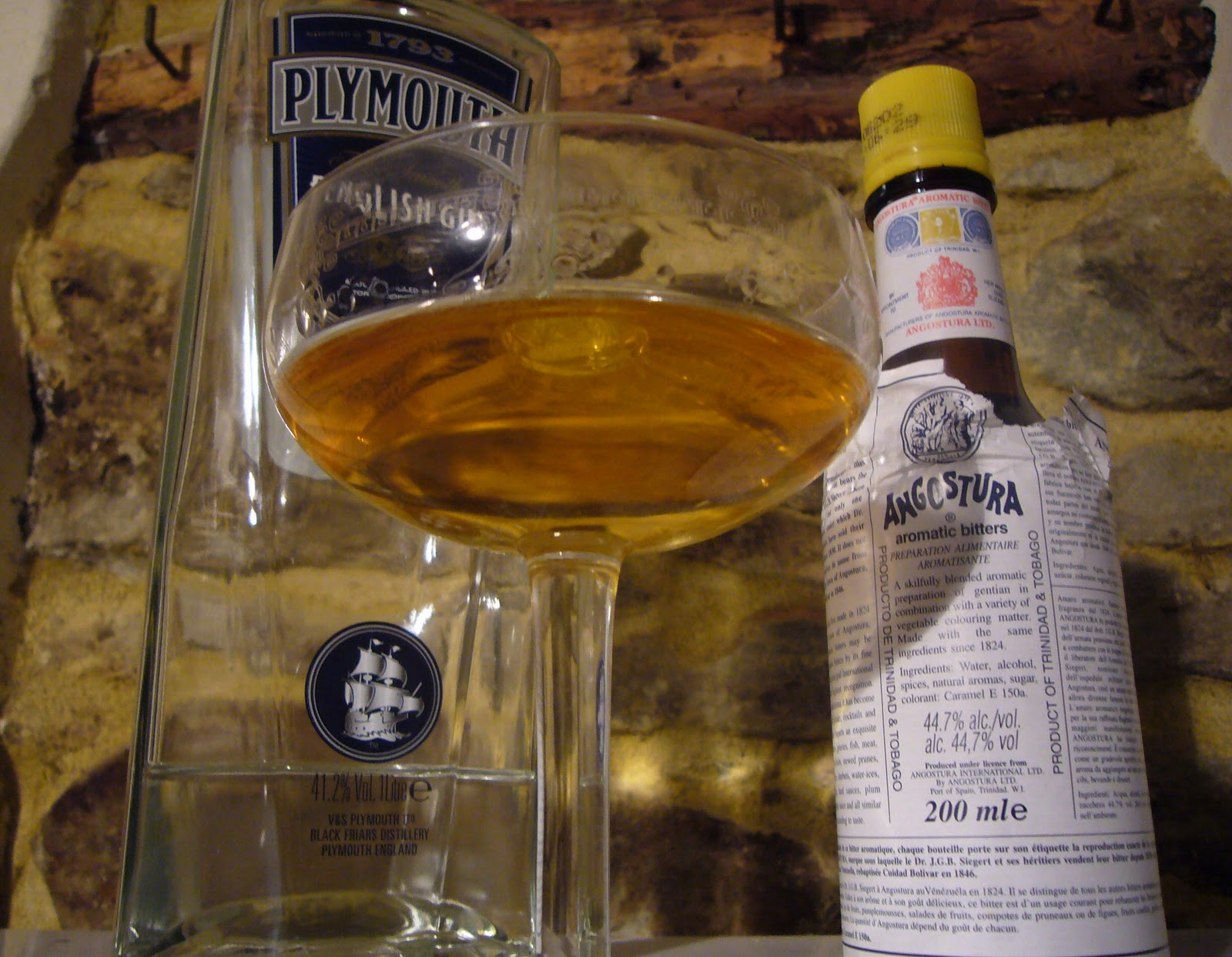 My Grappa Hell: A couple of pre-dinner drinks