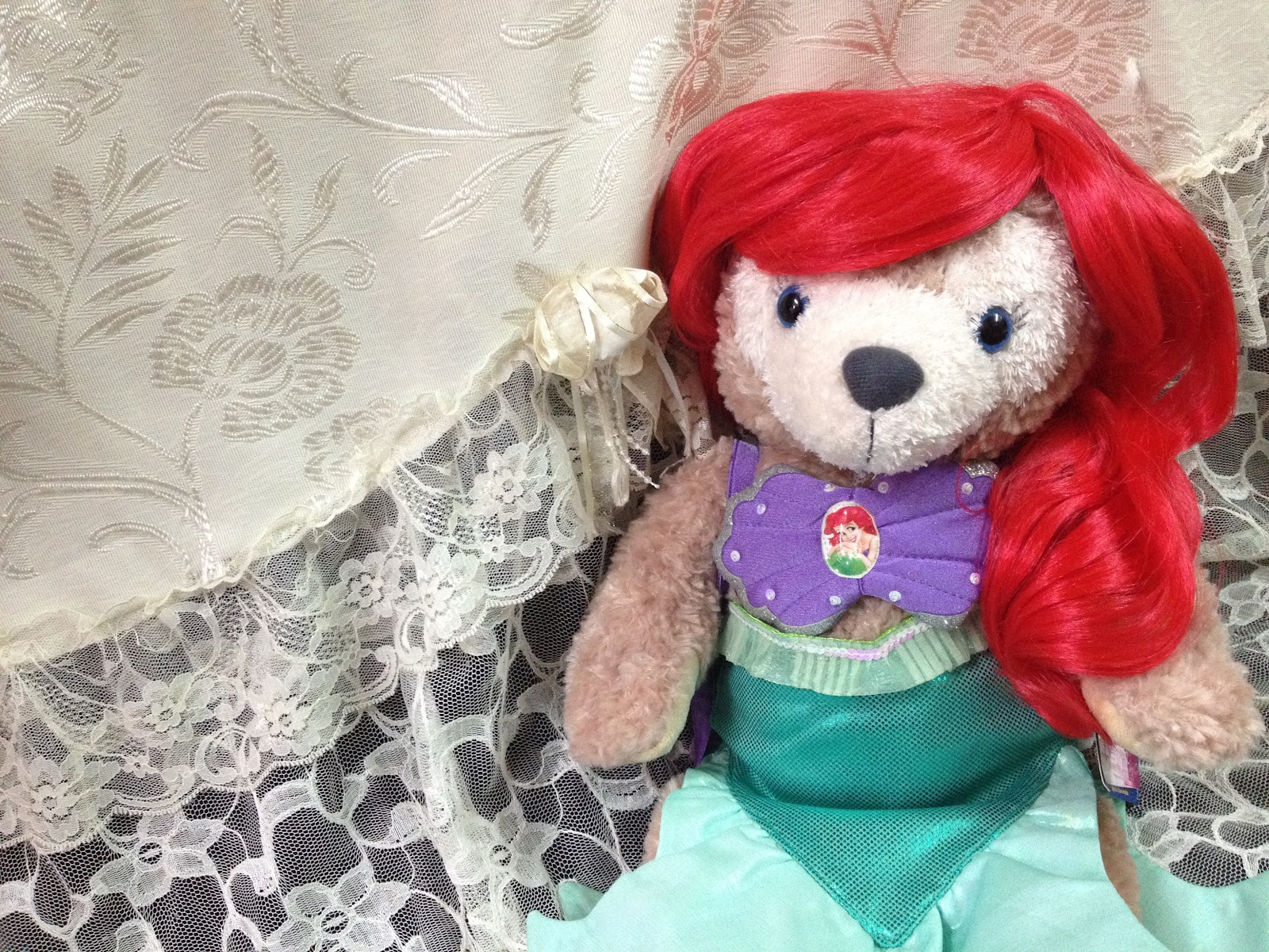 ♥ Duffy X ShellieMay ♥ 小地攤: 4月新番!Shelliemay DUFFY衫 ♥ 美國BuildAbear の 10 ~ ♥美人魚公主♥