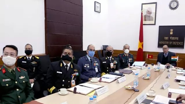 13th India-Vietnam Defence Security Dialogue held in Virtually