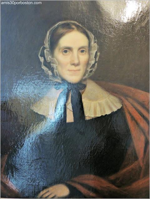 Retrato de Sally Fisk Ropes por Abel Nichols entre 1836-39