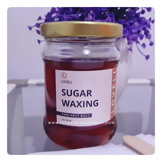 cara waxing menggunakan sugar wax, harga natural waxing, sugar wax murah shopee