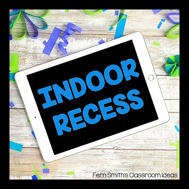 Elementary FREE Indoor Recess Games Pinterest Board. These FREE Indoor Recess Games are designed to keep students BUSY and HAPPY during indoor recess. All of these FREE printable Indoor Recess games are appropriate for Pre-Kindergarten, Elementary School, Girl Scouts, Boy Scouts, Children's Church Groups, After School Day Cares, and SO MUCH MORE! Pre-K, K, 1st, 2nd, 3rd, & 4th Grade Teachers follow this board. I hope you enjoy these freebies from Fern Smith's Classroom Ideas blog! Fern Smith ♥
