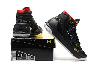 Under Armour Curry 3 Black gold  Premium, toko sepatu basket , jual sepatu basket, harga basket under armour, under armour curry , curry 3