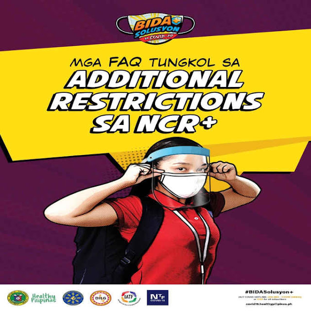 additional restrictions sa ncr