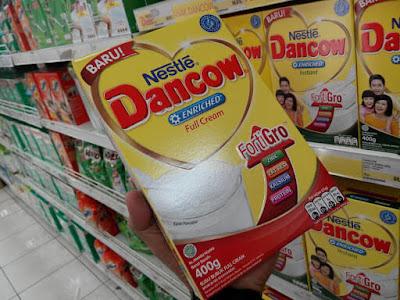 Dancow Fortigro Enriched Full Cream Nutrisi Anak Usia 6-12 Tahun
