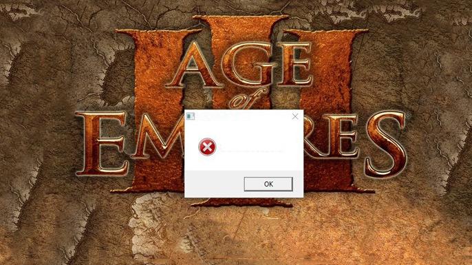 Age of Empires 3 não abre (erro em branco) - Solução Rápida (2020)