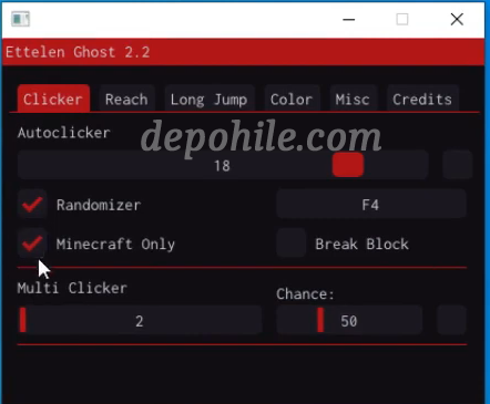 Minecraft Ettelen v2.2 Makro Reach, Clicker Hilesi İndir 2021