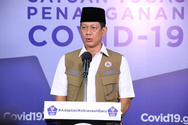Doni Monardo Dorong Seluruh Mesjid di Indonesia Gaungkan Sosialiasi Penerapan Protokol Kesehatan