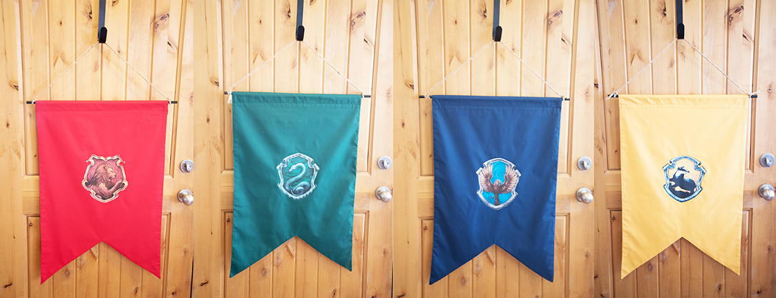 DIY Harry Potter House Flag