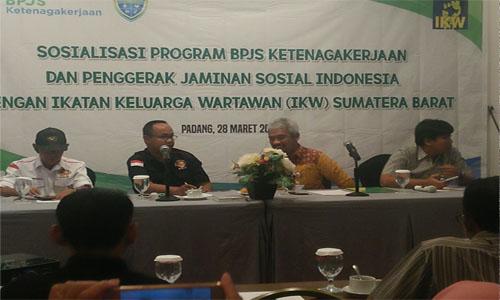 BPJS Ketenagakerjaan Kota Padang Hadir Untuk Meringankan  Beban Risiko Bagi Pekerja
