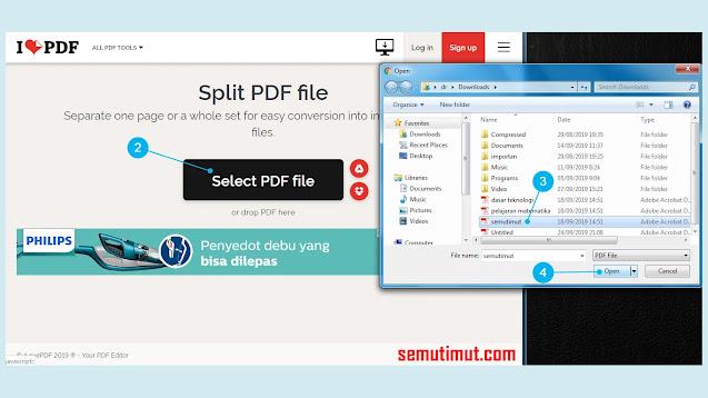 Cara Memisahkan File PDF Hasil Scan