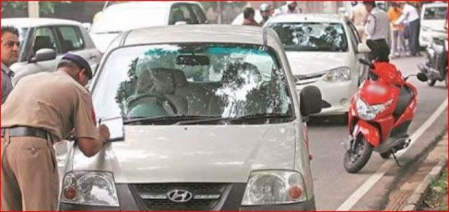 ट्रैफिक पुलिस ने कार पर डंडा मारकर युवक को रोका तो आ गया हार्ट अटैक और...