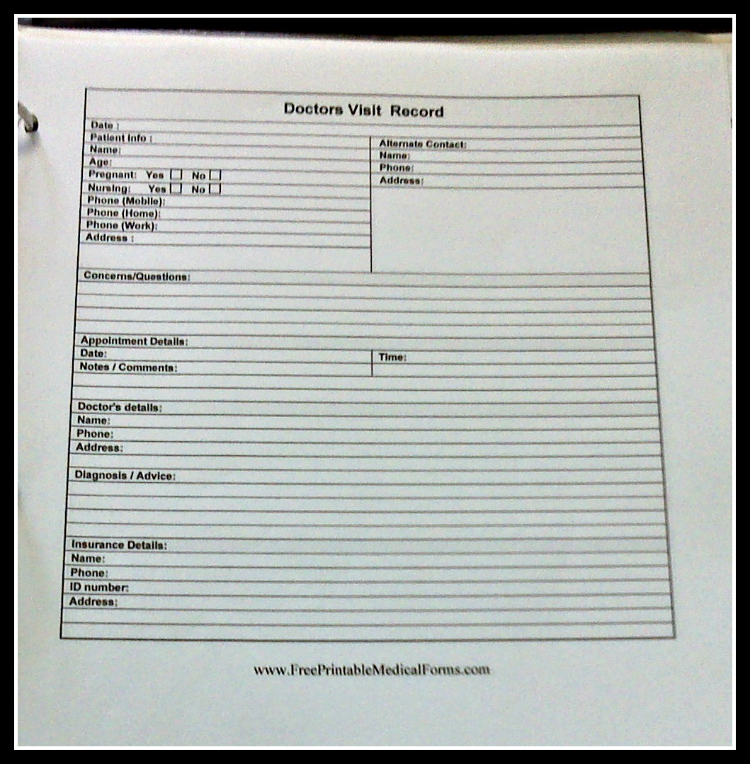 fake doctors note template pdf