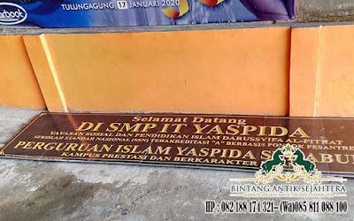 Nameboard Granit Ngawi, Pembuatan Prasasti Nameboard