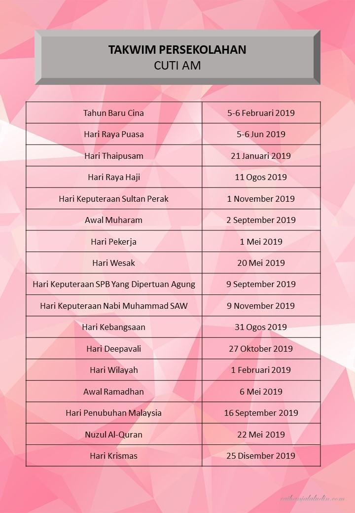 Kandungan Fail Rph 2019 Raihan Jalaludin S Blog