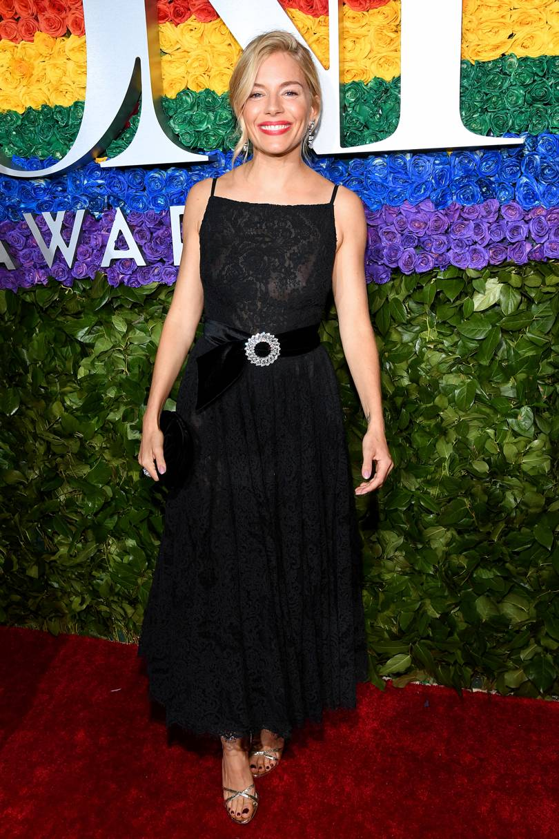 Sienna Miller In Miu Miu At The Tony Awards