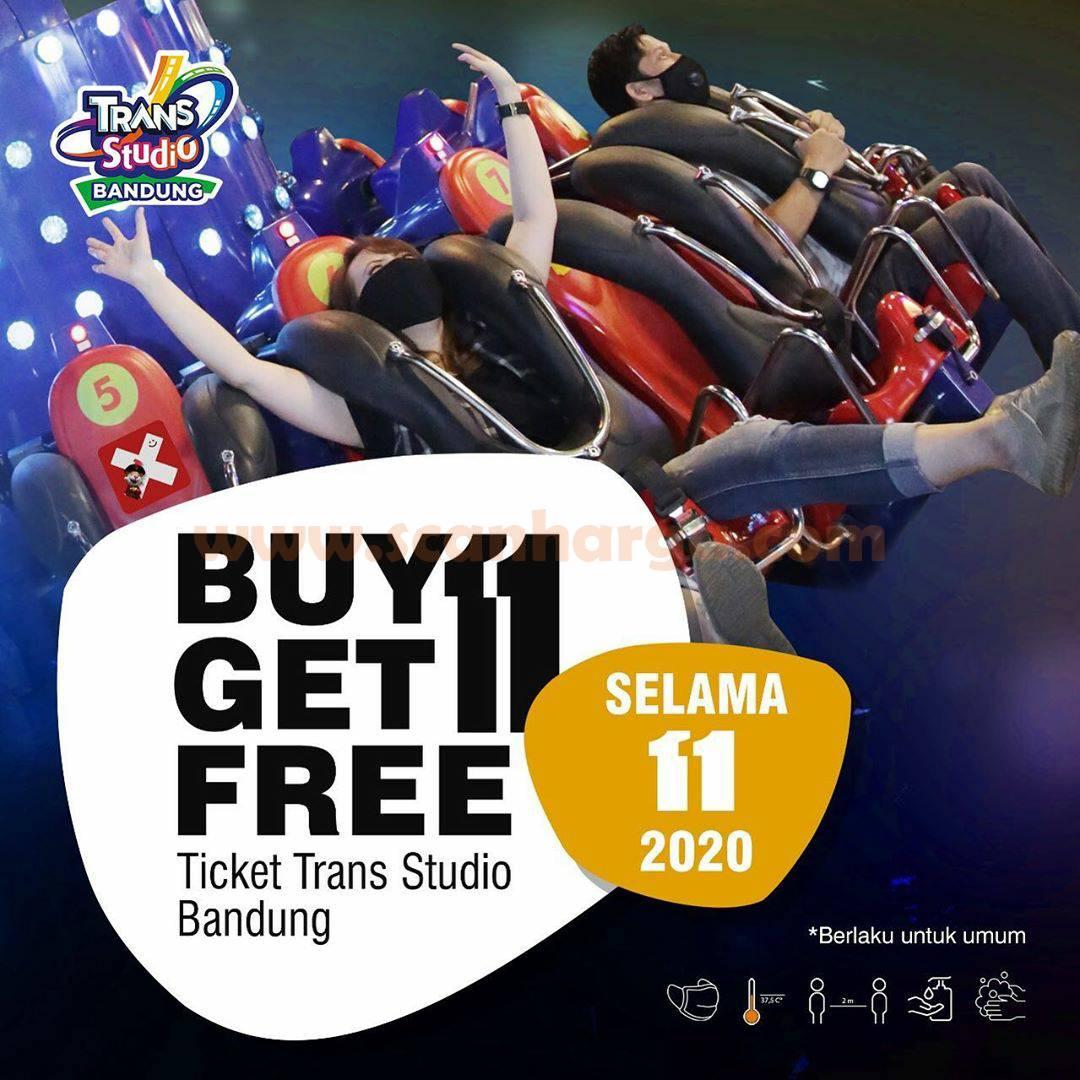 Promo Trans Studio Bandung Buy 1 Get 1 Free November 2020