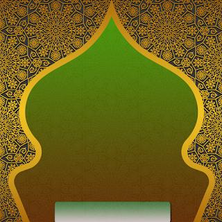Gambar poster ucapan selamat tahun baru islam PNG kosongan - kanalmu