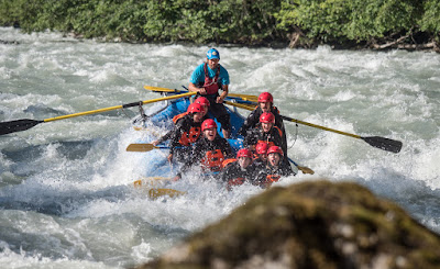 whitewater rafting in Whistler