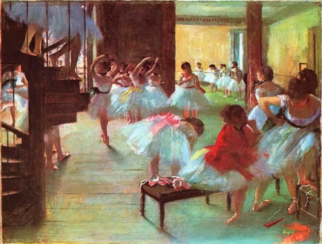 Эдгар Дега - Танцевальный класс (1873)