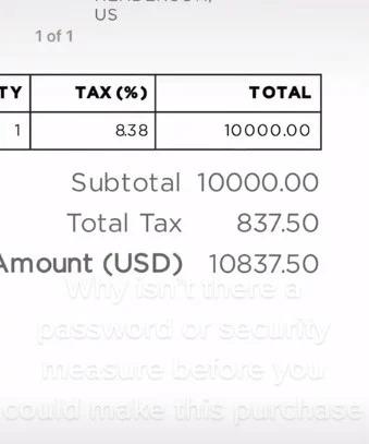 Bebé gasta miles de dólares en actualización de Tesla