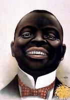pria berkulit hitam gelap