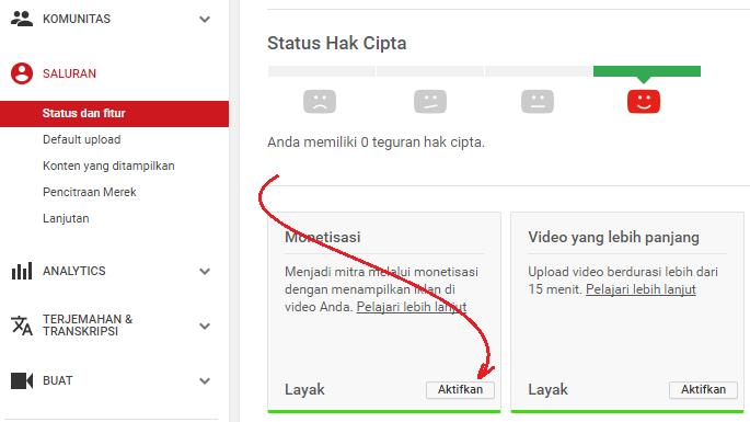 4 Cara Menampilkan Iklan Adsense Di Youtube Trikpos