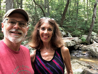 Wallace and Nancy at Glen Falls, Lookout Mountain