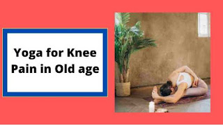 yoga for knee pain in old age