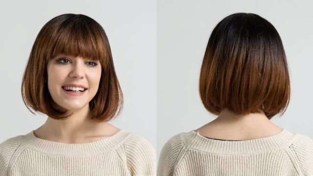 Gaya Rambut Pendek Poni Perempuan Gaya Rambut
