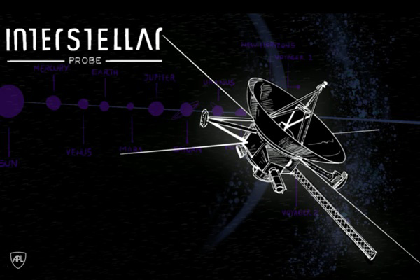 An artist's concept of the proposed Interstellar Probe.