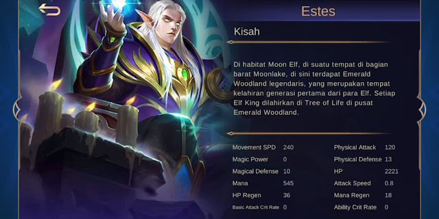 estes hero meta terbaru season 16 mobile legends