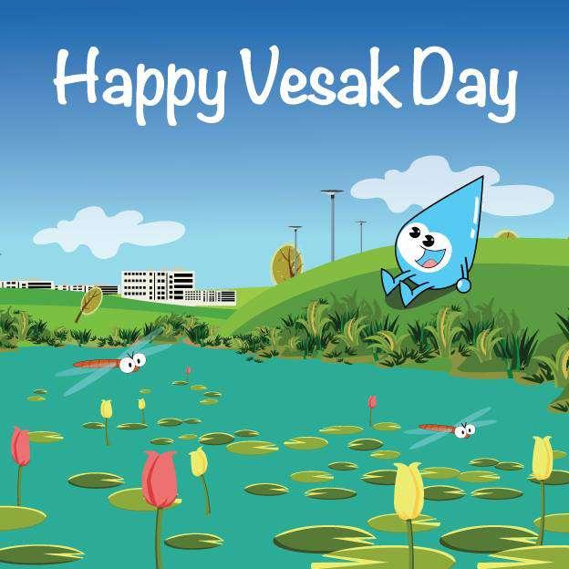 Vesak Wishes Photos