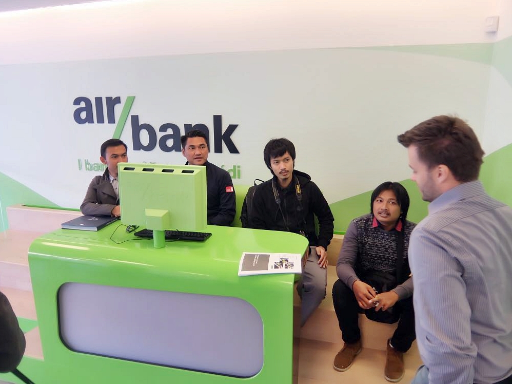 MEETING IN PRAGUE WITH AIR BANK