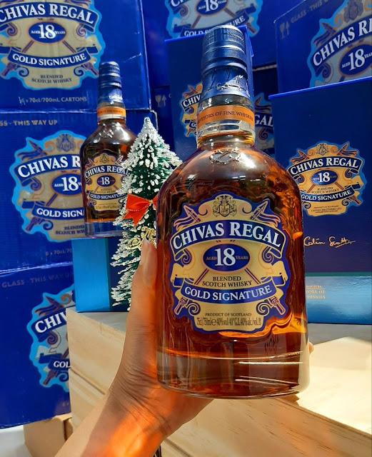 Rượu Chivas 18 Regal Cold Signature