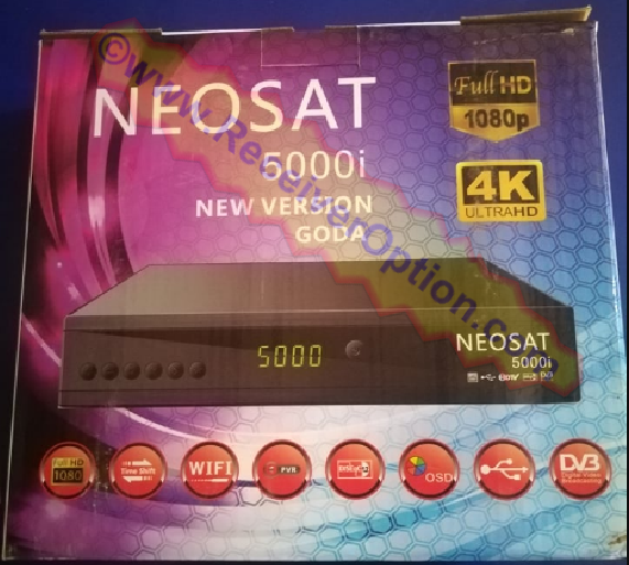 NEOSAT 5000i LV CHIP HD RECEIVER SOFTWARE NEW UPDATE
