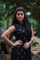 Actress Yamini Bhaskar in a Tight Black Sleeveless Dress ~  Exclusive 28.JPG