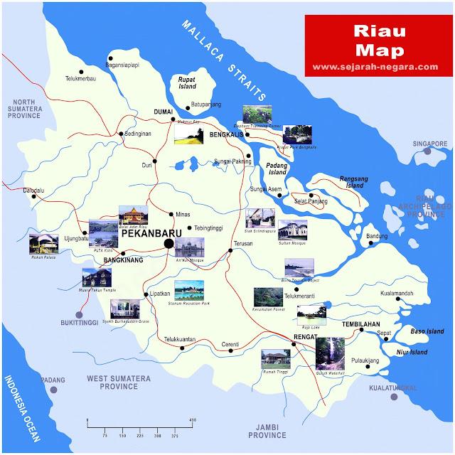 image: Riau Map High Resolution