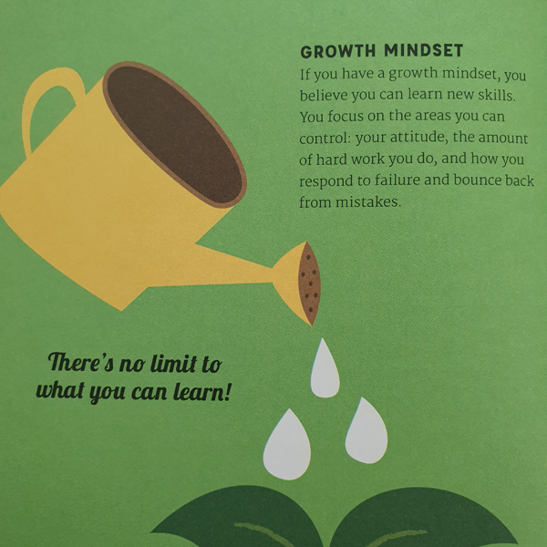Mindset Growth in the book Be Your best Self