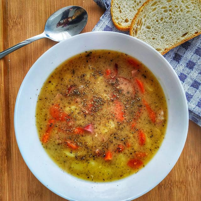grochówka-sycąca zupa, zdrowe odżywianie