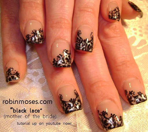 "2013 Prom Nail Design Ideas: Nail Art By Robin Moses: ""prom Nails"" ""nail Art"" ""cute"