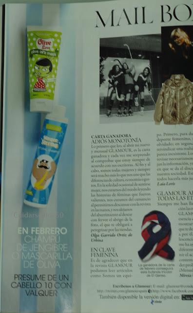 Regalo febrero Revista Glamour