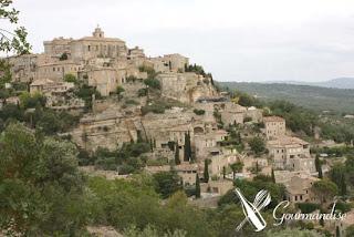 Primeira fotogarfia publicada no artigo Gordes - Provence