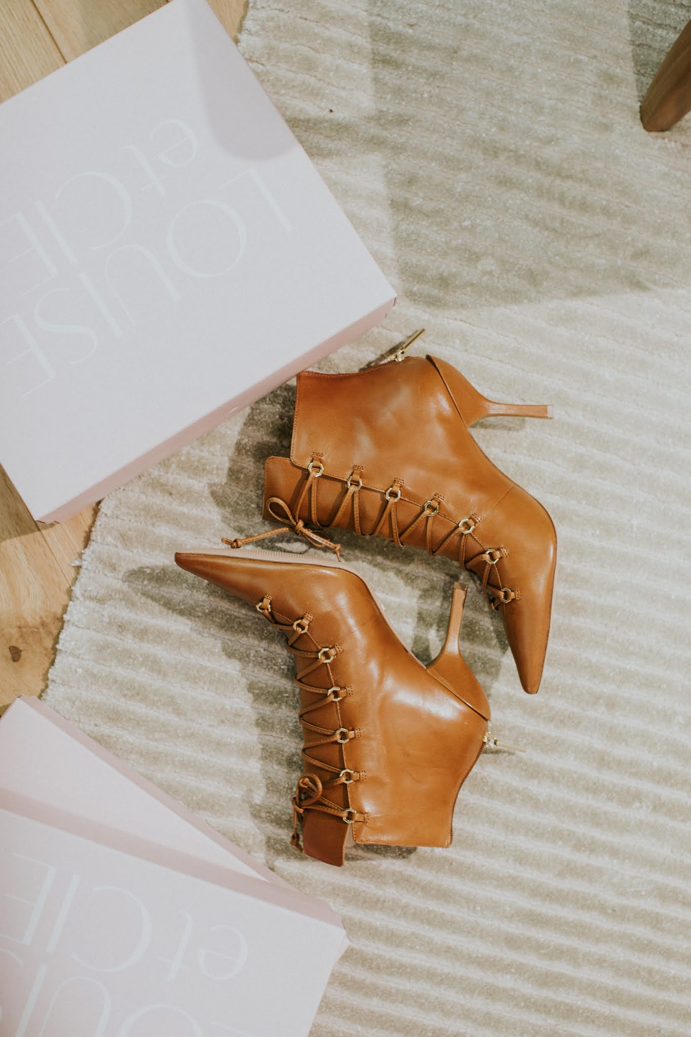 Vince camuto Vanida Lace-Up Bootie
