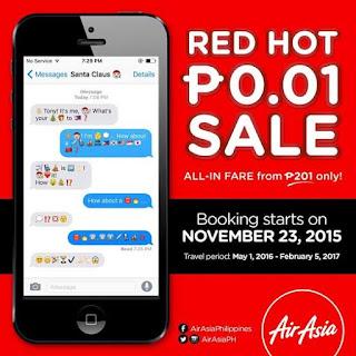 Philippines Air Asia Promo Fares