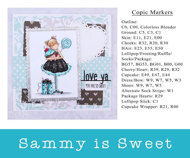 Heather's Hobbie Haven - Sammy is Sweet Card Kit