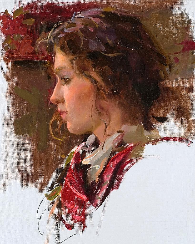 Daniel F. Gerhartz 1965 | American Figurative painter