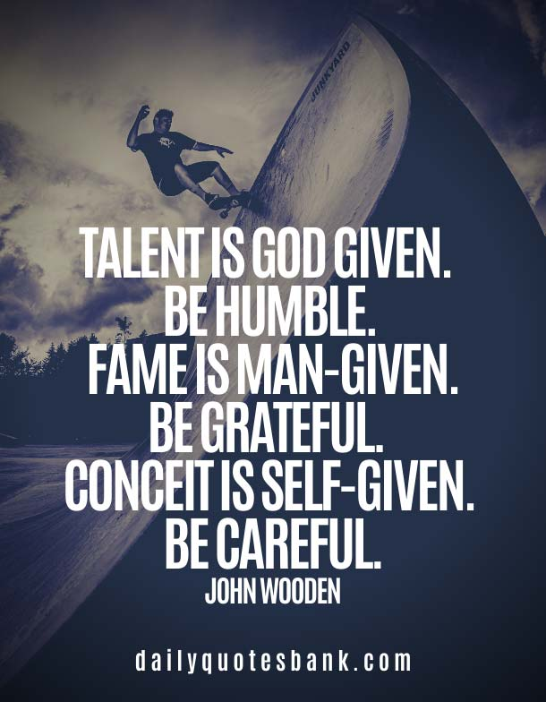 John Wooden Quotes On Talent