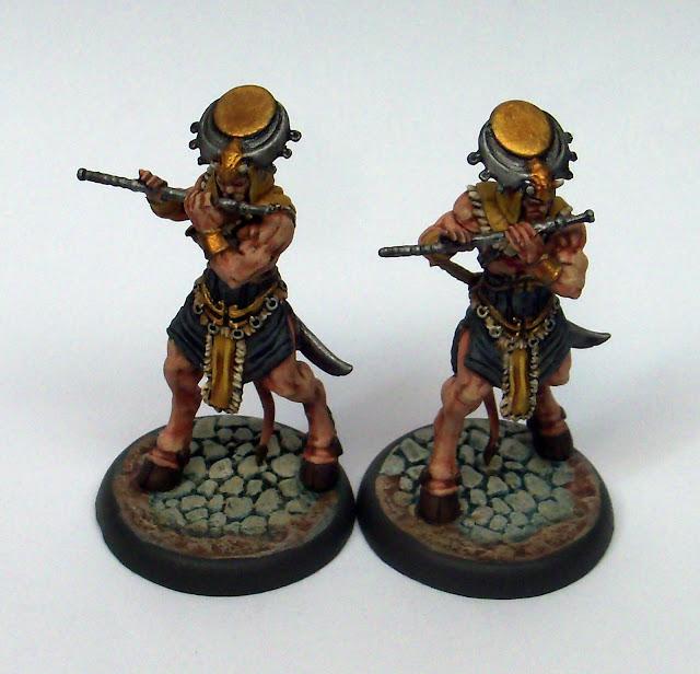 Nova Aetas Primaevi Miniatures Painted Faun Musician